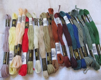 cotton stranded embroidery colorful assortment of 20 gift party big day