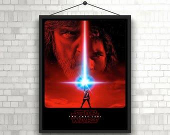 Star Wars Episode VIII The Last Jedi Movie Cover Poster