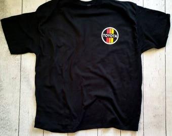 Vintage Toyota Logo Tee Shirt