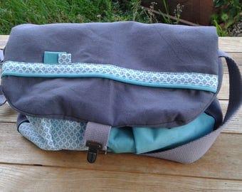 Fabric shoulder Messenger bag