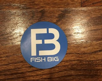FISH BIG 3 inch magnet