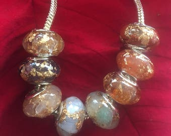 Orgone Chakra Beads *Beads only* - chakra healing/aligning/energizing/ balancing, EMF protection