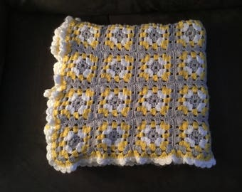 Sofa Throw Crochet Blanket