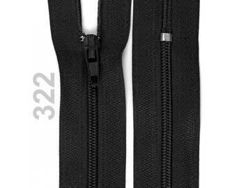 black nylon closure size 15 cm
