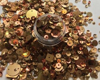 Bronze Sequin Mix