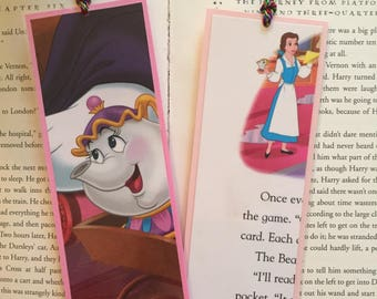 Beauty and the Beast Disney Bookmarks