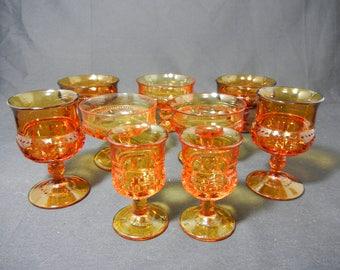 Amber Kings Crown Pattern 9 Pc set