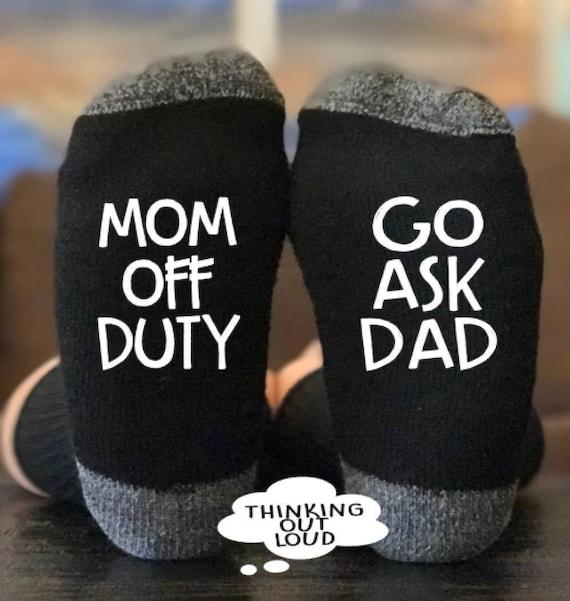 Mom Off Duty Socks
