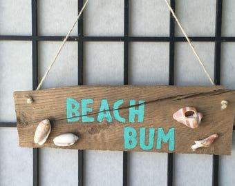 Beach theme wall hanging