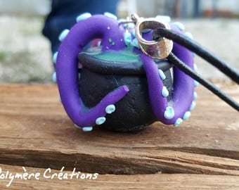 Scalded Octopus necklace