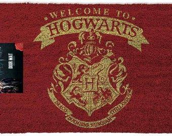 Harry Potter Hogwarts Door Mat