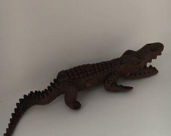 """Vintage 3"""" Alligator/Crocodile"""