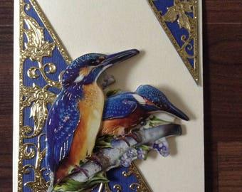 Greeting card Hummingbird