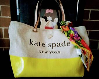 Kate Spade Canvas Tote Bag