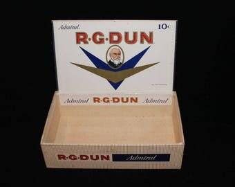 R.G.DUN Admiral 50 Cigars (Empty Box)