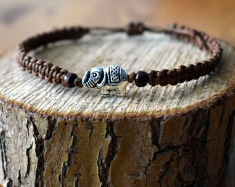 Macrium Bracelet with Elephant