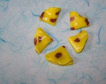 mini pancakes for scrapbooking or jewelry polymer clay