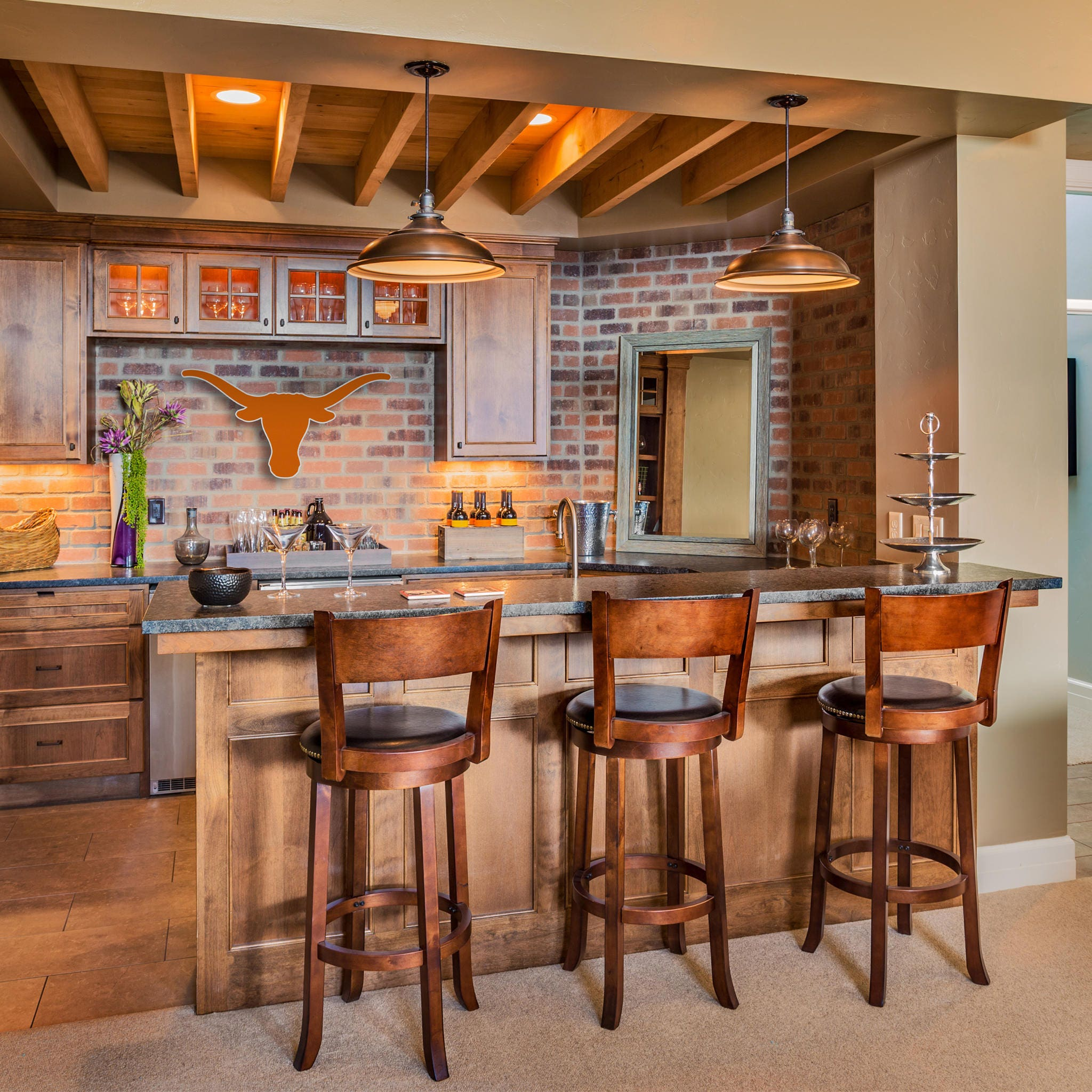Texas Longhorns Decor|Wall Decor|Boy Room Decor|Boy Football Decor ...