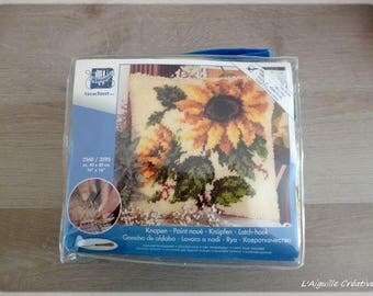 Knotted stitch Kit new sunflower