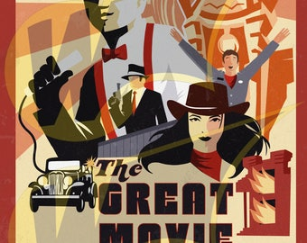 The Great Movie Ride It's been a great ride! That's a wrap! Gala poster