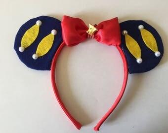 Snow White themed headband