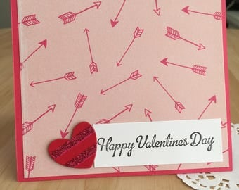 Cupid's Arrows Valentine's Day Card
