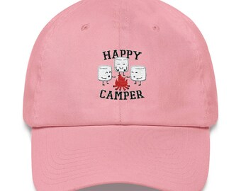 Happy Camper Marshmallows Hat