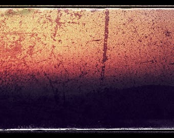 English Sunset Abstract - Fine At Photograph