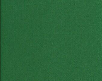 Coupon fabric plain faux green patch