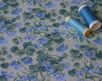 Blue Green PETER PAN American patchwork fabric