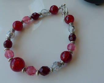 Bracelet Swarovski pearls