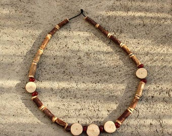 Necklace Native American 3 beads