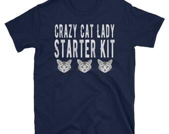Crazy Cat Lady Starter Kit T-Shirt