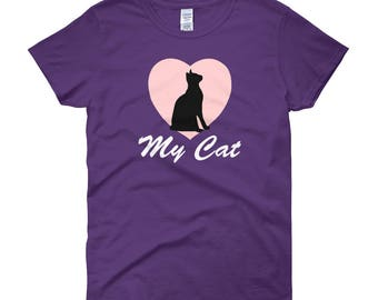 Love My Cat Women's Short Sleeve T-shirt