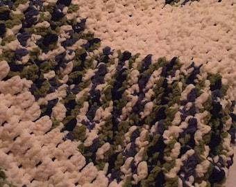 Medium Crocheted Blanket