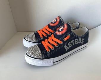 Astros Bling tennis shoes