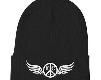 KC Peace-Wings Knit Beanie
