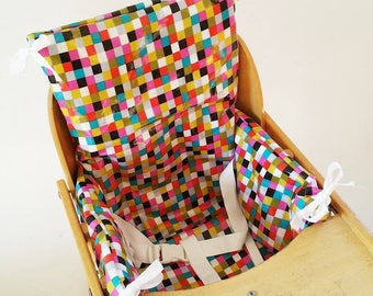 Jose high chair cushion - easy cleaning