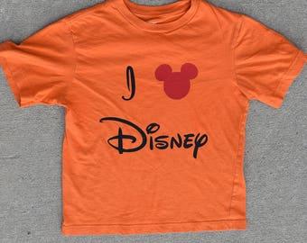 I Love Disney T-Shirt