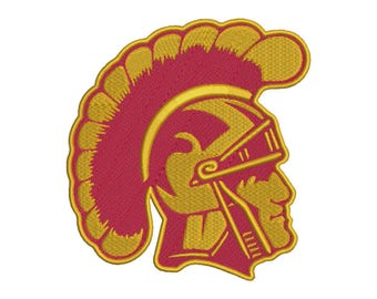 USC Trojans Embroidery Design - 4 SIZES