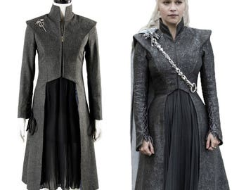 Daenerys Targaryen costume - Cosplay Game of Thrones Season 7 - Full set