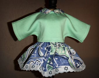 Handmade 40-45 cm soft body doll clothing set