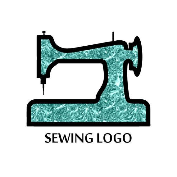 sewing machine logo thread logo design stitch logo custom logo premade logo business card. Black Bedroom Furniture Sets. Home Design Ideas