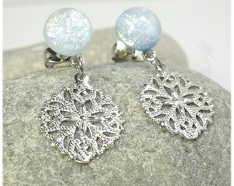 """""""Snowflake"""" Stud Earrings"""