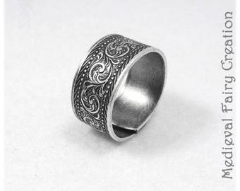 "Alliance ""Vegetal"" antique silver version"