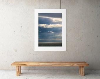 Ocean Storm - Digital Art, Contemporary Art, Wall Art, Wall Decor, Wall Hanging, Home Decor, InstantDownload, Triptych, ArtPrint, DIY, Photo