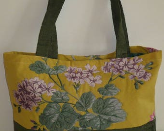 City Nathalie yellow and green Tote
