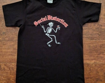 Kids †Social Distortion† Classic Skelly Tshirt