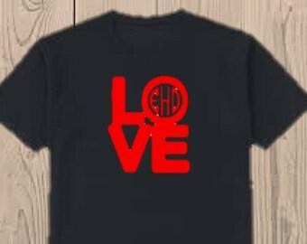 Kids valentine's shirt