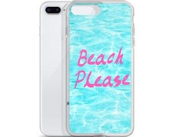 Beach Please - iPhone Case